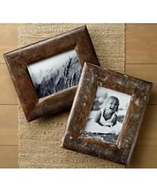 "St. Croix KINDWER Set of 2 Rustic Wood 5"" x 7"" Frames"