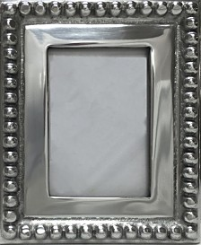 """St. Croix KINDWER Imperial Beaded 4"""" x 6"""" Photo Frame"""