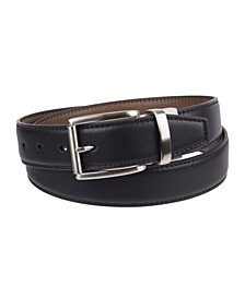 Reversible Dress Men's Belt with Comfort Stretch