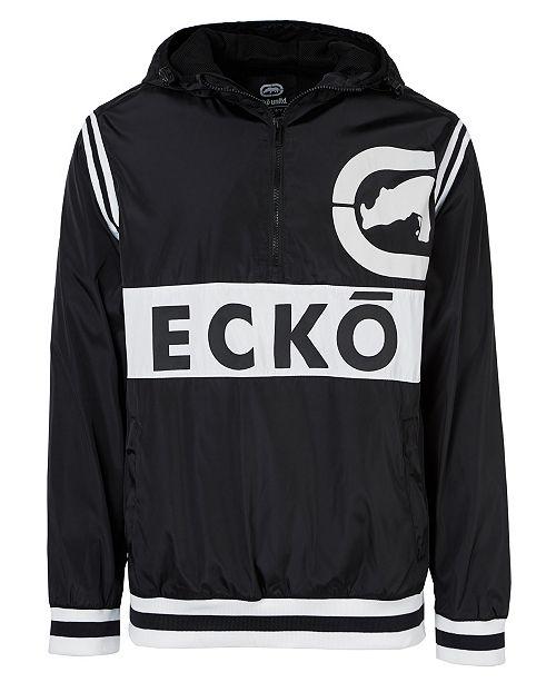 Ecko Unltd Men's Varsity Sport Anorak Jacket