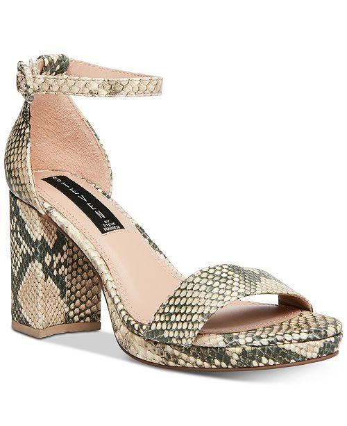 STEVEN NEW YORK Vino Platform Sandals