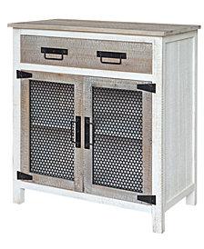 Farmington One Drawer Two Door Cabinet