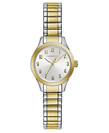 Women's Two-Tone Stainless Steel Bracelet Watch 24mm