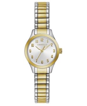Designed by Bulova Women's Two-Tone Stainless Steel Bracelet Watch 24mm