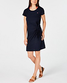 Tie-Front Cover-Up Dress