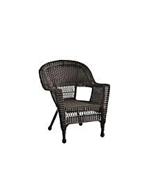 Wicker Chair without Cushion - Set of 4