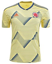 7ae0a7a3064 adidas Men s Colombia National Team Home Stadium Jersey