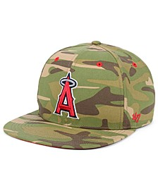 Los Angeles Angels Blockade Strapback Cap