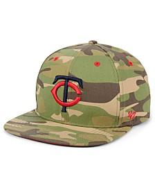 '47 Brand Minnesota Twins Blockade Strapback Cap