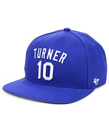 '47 Brand Justin Turner Los Angeles Dodgers Player Snapback Cap