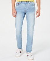 a220310fb018 Tommy Hilfiger Denim Men's Marley Slim Tapered Fit Stretch Distressed Jeans