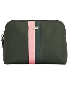 kate spade new york Racing Stripe Briley Cosmetic Case