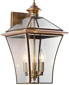 "Virginia 17.75""H Triple Light Sconce"