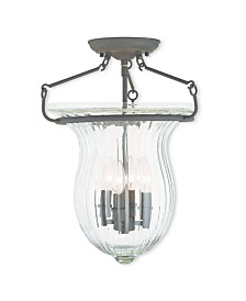 CLOSEOUT! Livex   Andover 4-Light Ceiling Mount
