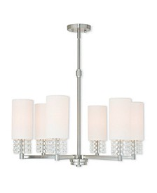 CLOSEOUT!   Carlisle 6-Light Chandelier