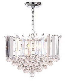 "Hampton 2 Light 16.5""D Glass Pendant"