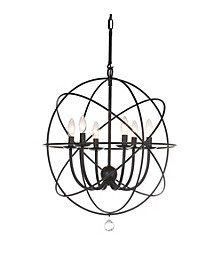 "Evie 22""D Adjustable Chandelier"