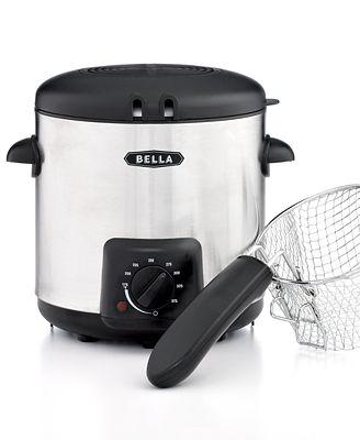 Bella 13769 0.9L Stainless Steel Deep Fryer