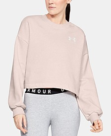 Women's Rival Fleece Cropped Sweatshirt