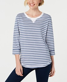 Karen Scott Zoe Sweatshirt, Created for Macy's