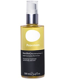 Provision Scents Manifest Body Oil, 3.4-oz.