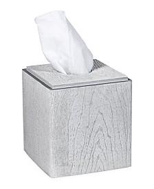 DKNY Grey Wood Tissue Box
