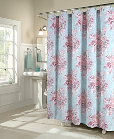 M.Style Vintage Rose Shower Curtain