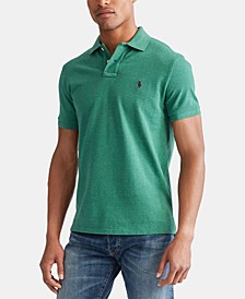 Men's Big & Tall Classic Fit Cotton Mesh Polo