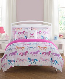 Unicorn Parade 7-Pc. Comforter Sets