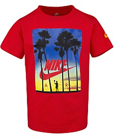 Nike Little Boys Sunset-Print Cotton T-Shirt