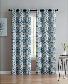 Winstead Printed 38x96 Window Panel Set