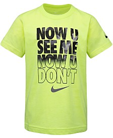 Nike Toddler Boys See Me-Print Cotton T-Shirt