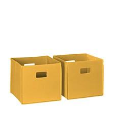 RiverRidge 2 Pc Folding Storage Bin Set