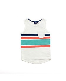 Bear Camp Toddler Boy Striped Tank