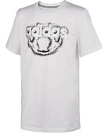 adidas Big Boys Logo-Print Cotton T-Shirt