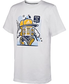 Toddler Boys Noise-Print Cotton T-Shirt