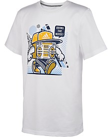adidas Toddler Boys Noise-Print Cotton T-Shirt