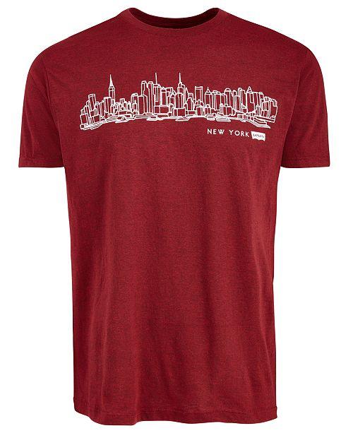 Levi's Men's New York Cityscape Graphic T-Shirt