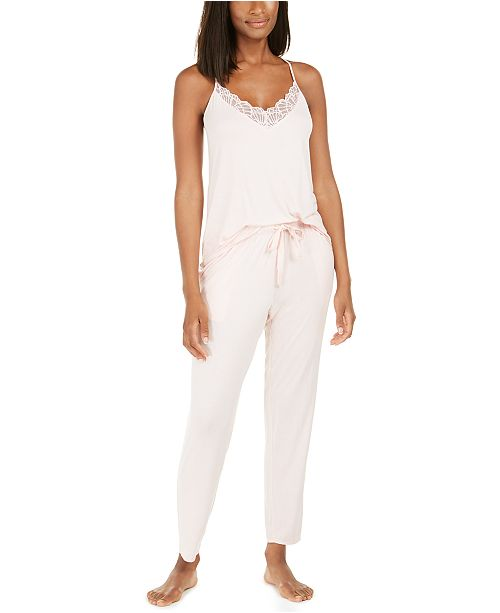 Josie Bardot Essentials Cami & Pants Pajamas Set