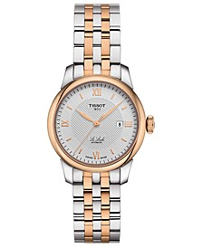 Women's Swiss Automatic Le Locle Two-Tone Stainless Steel Bracelet Watch 29mm