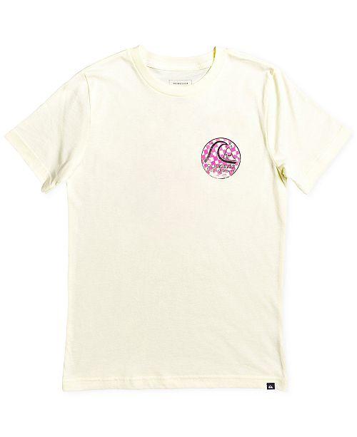 Quiksilver Big Boys Graphic-Print Cotton T-Shirt