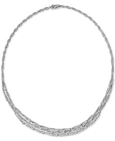 D'Oro by EFFY® Diamond Embellished Necklace (1-5/8 ct. t.w.) in 14k Gold