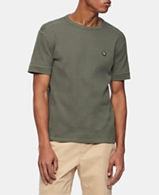 Calvin Klein Jeans Men's Waffle-Knit T-Shirt