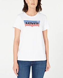Levi's® The Perfect Cotton Batwing-Graphic T-Shirt