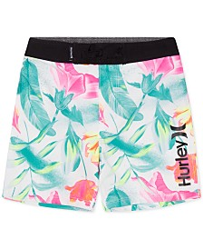 Hurley Big Boys Printed Swim Trunks