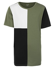 Big Boys Colorblocked Tall T-Shirt, Created for Macy's