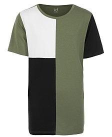 Ideology Big Boys Colorblocked Tall T-Shirt, Created for Macy's