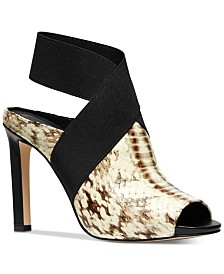 MICHAEL Michael Kors Ames Peep Toe Shooties