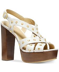 MICHAEL Michael Kors Audrina Platform Dress Sandals