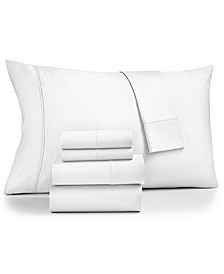 Brookline 1400-Thread Count 6-Pc. Queen Sheet Set